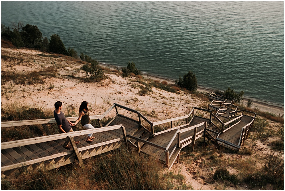 Lake Bluff Preserve Dock Lake Michigan