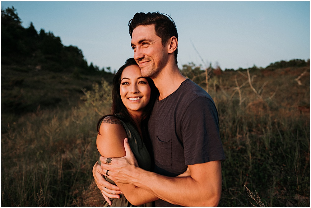 Lake Bluff Preserve Engagement Session