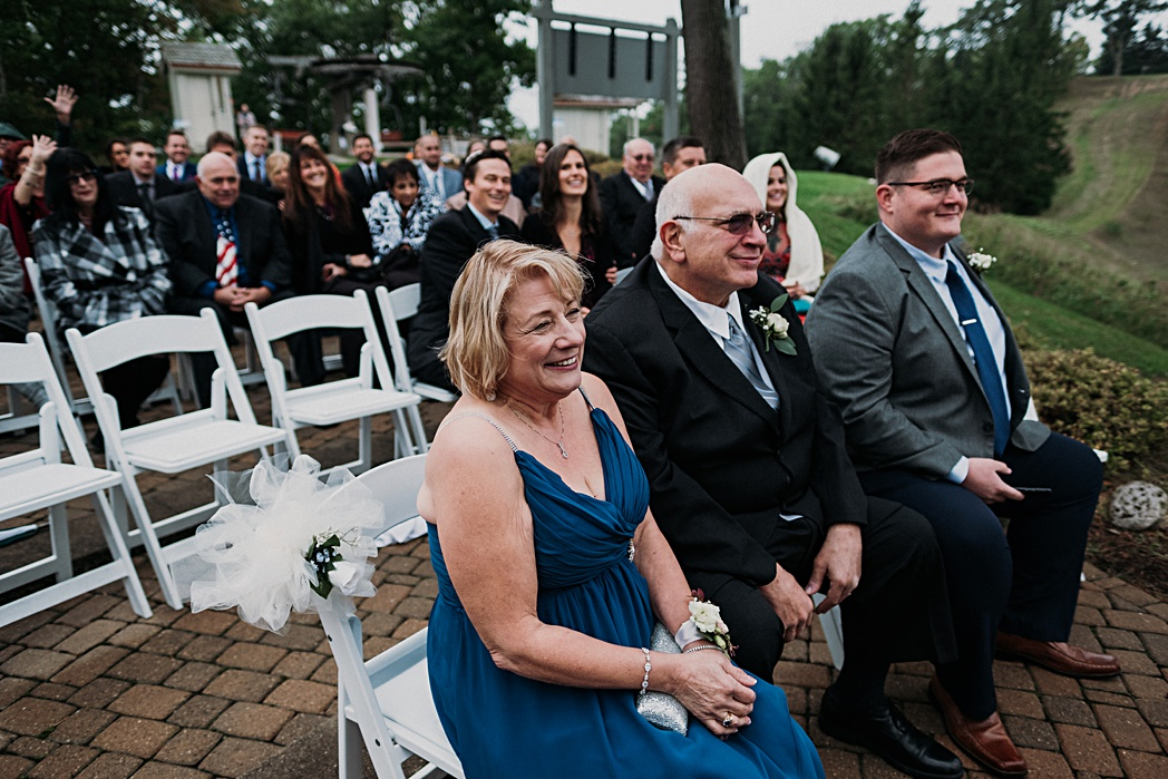 Glen Arbor Michigan Wedding Ceremony the Homestead