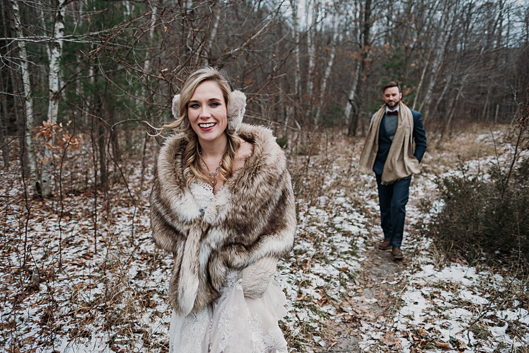 Winter Wedding Traverse City
