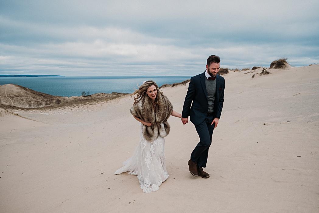 Winter Wedding in Traverse City