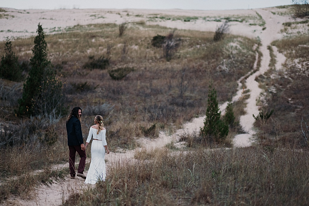 Sleeping Bear Dunes Nature Michigan Retreat Wedding