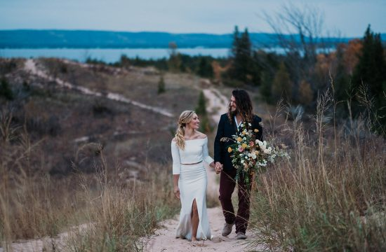 Nature Michigan Retreat Wedding