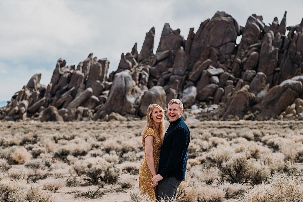 Adventure Engagement Session in Mt Whitney
