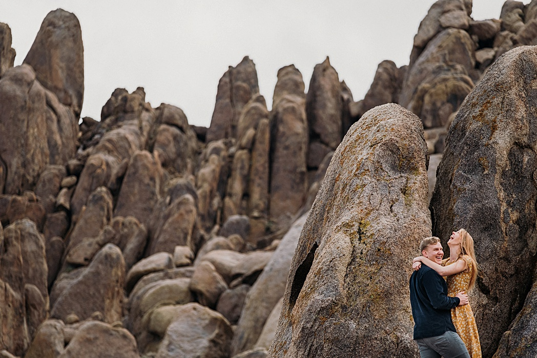 Mt Whitney Adventure Engagement