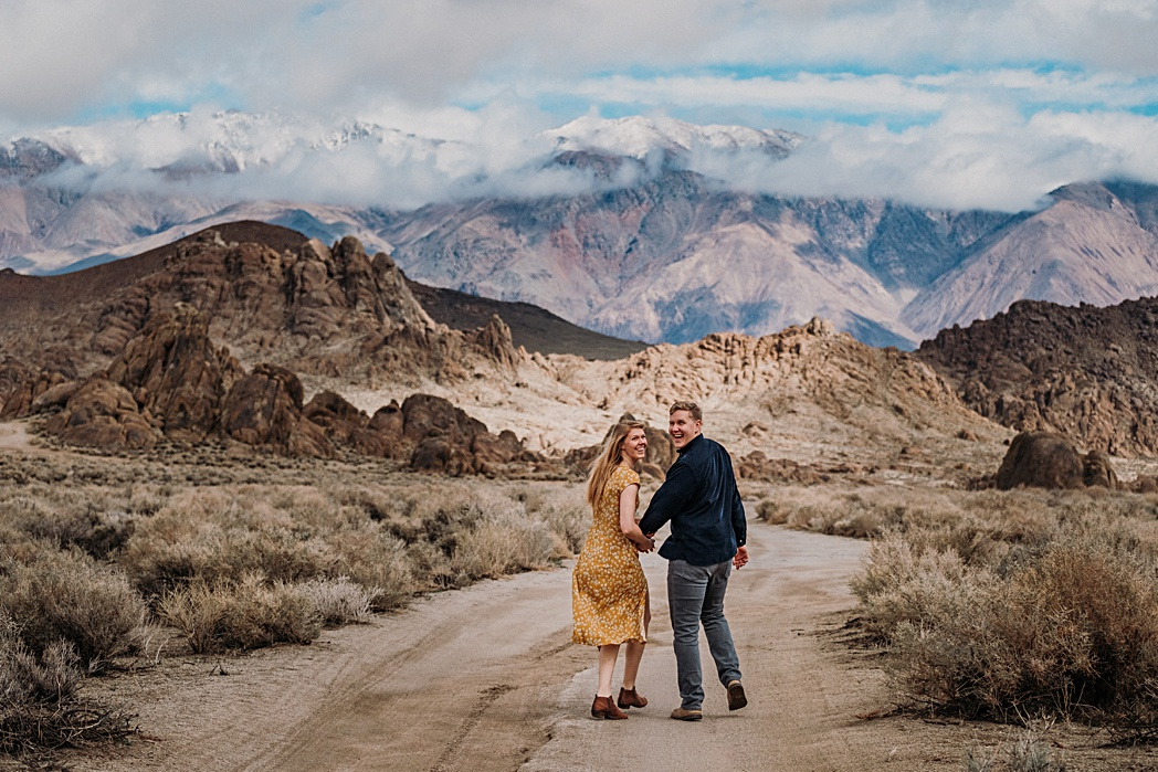 Mt Whitney Adventure Engagement Shoot