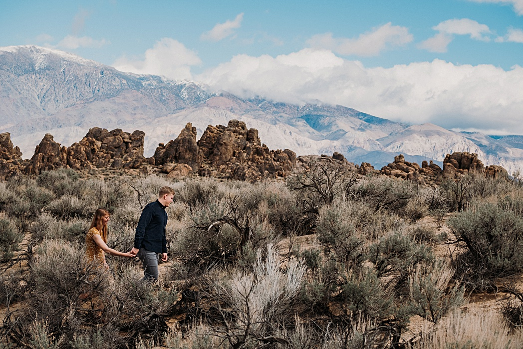 Alabama Hills Adventure Engagement