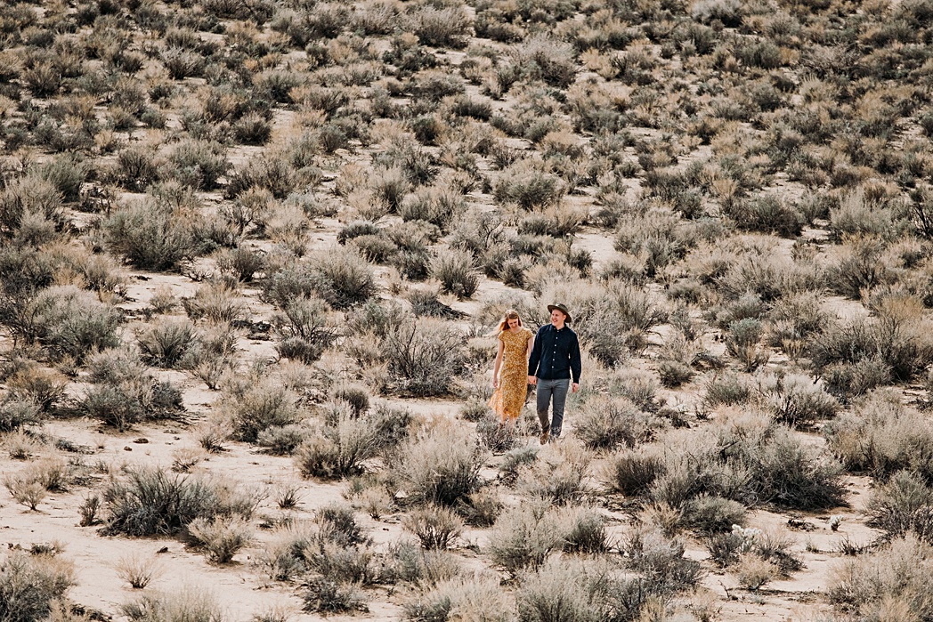 Alabama Hills California Engagement Session