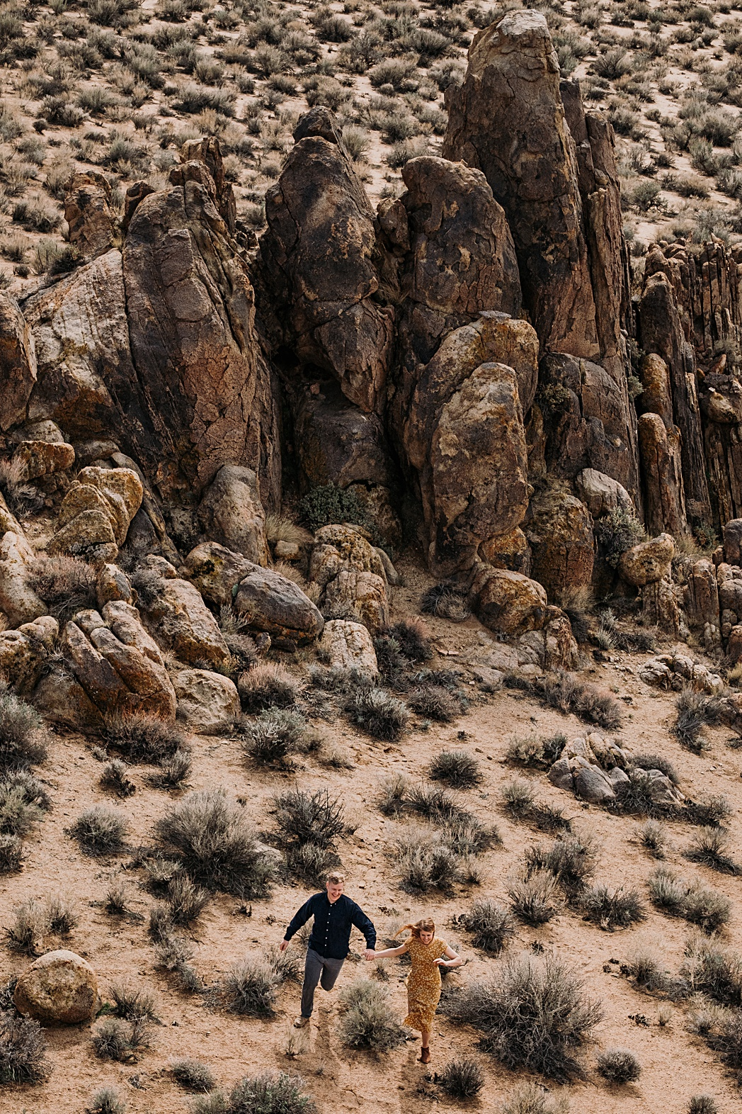 Alabama Hills Landscape Couples Adventure