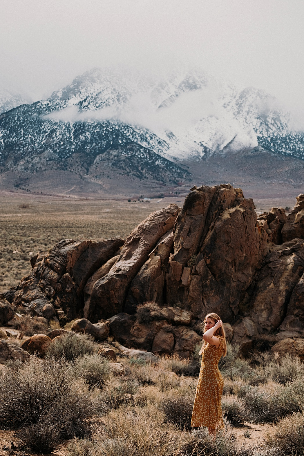 Engagement Portraits Alabama Hills
