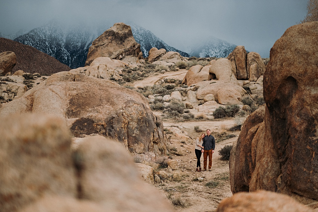 California Backpacking Engagement