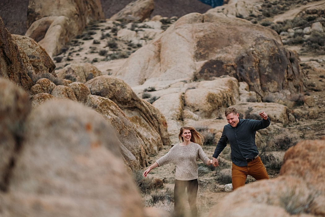 California Engagement Photographer Mt Whitney