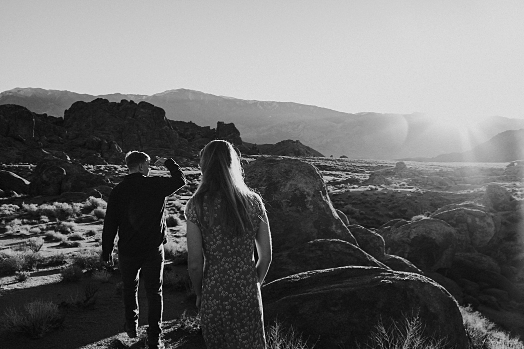 Alabama Hills Engagement Session Adventure