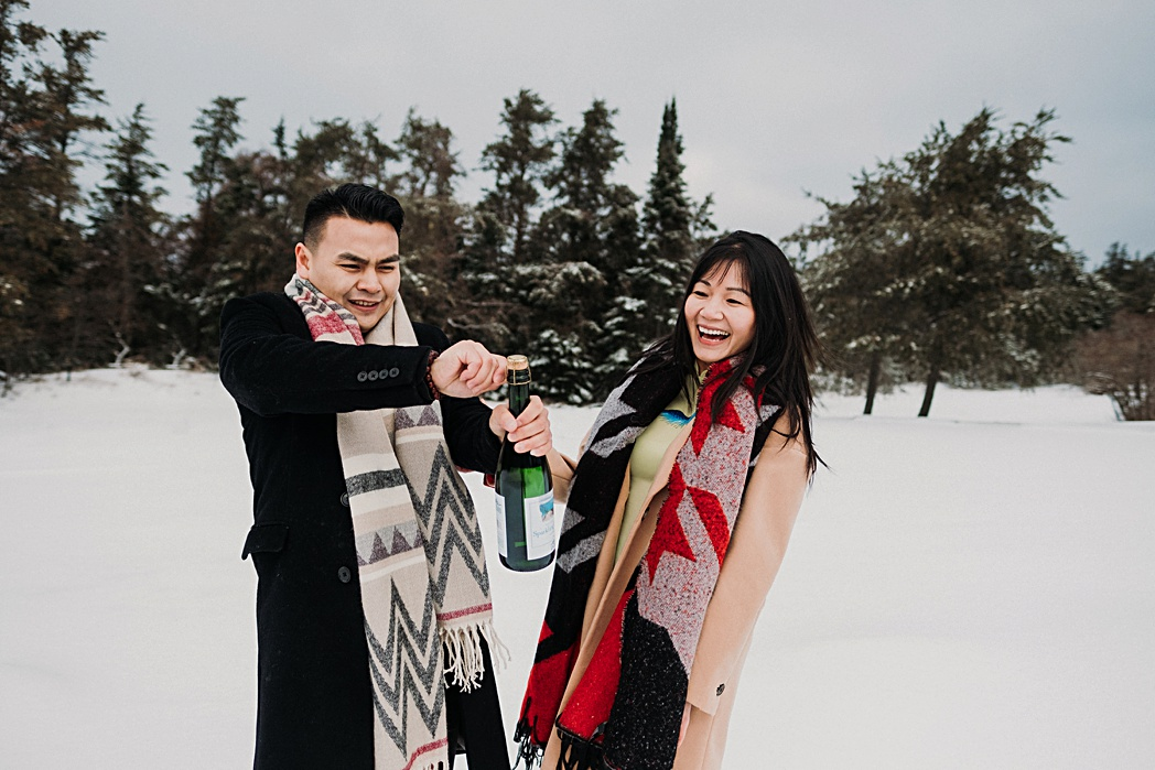 Wine Sleeping Bear Dunes Winter Session