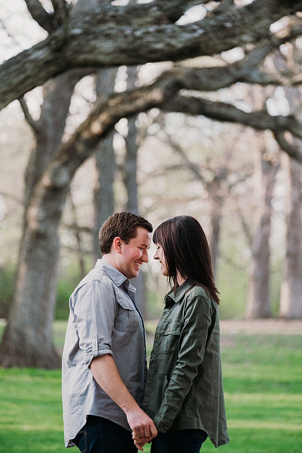 Wheaton Illinois Engagement Photographer