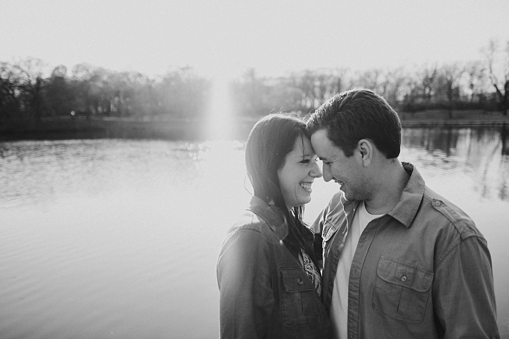 Candid Engagement Herrick Lake