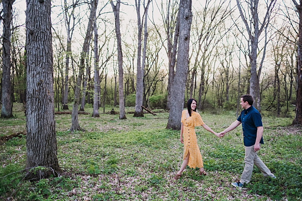 Blackwell Engagement Session Warrenville Illinois