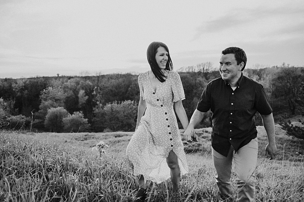 Engagement Session Blackwell Forest Preserve
