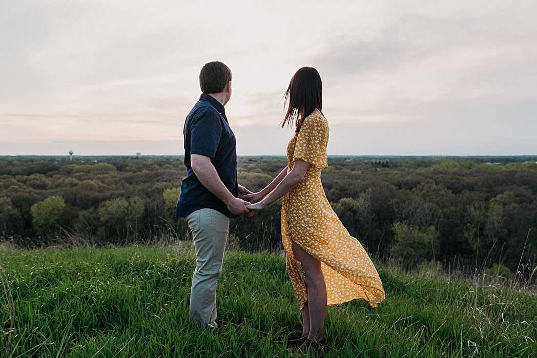 Epic Engagement Session Blackwell Forest Preserve