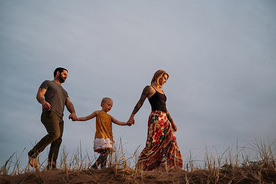 Sleeping Bear Dunes Family Session