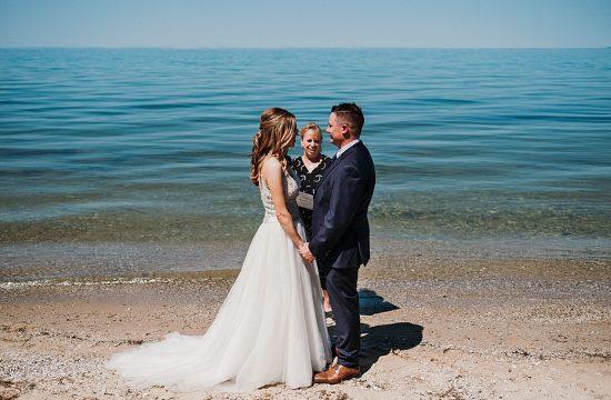 Good Harbor Beach Wedding