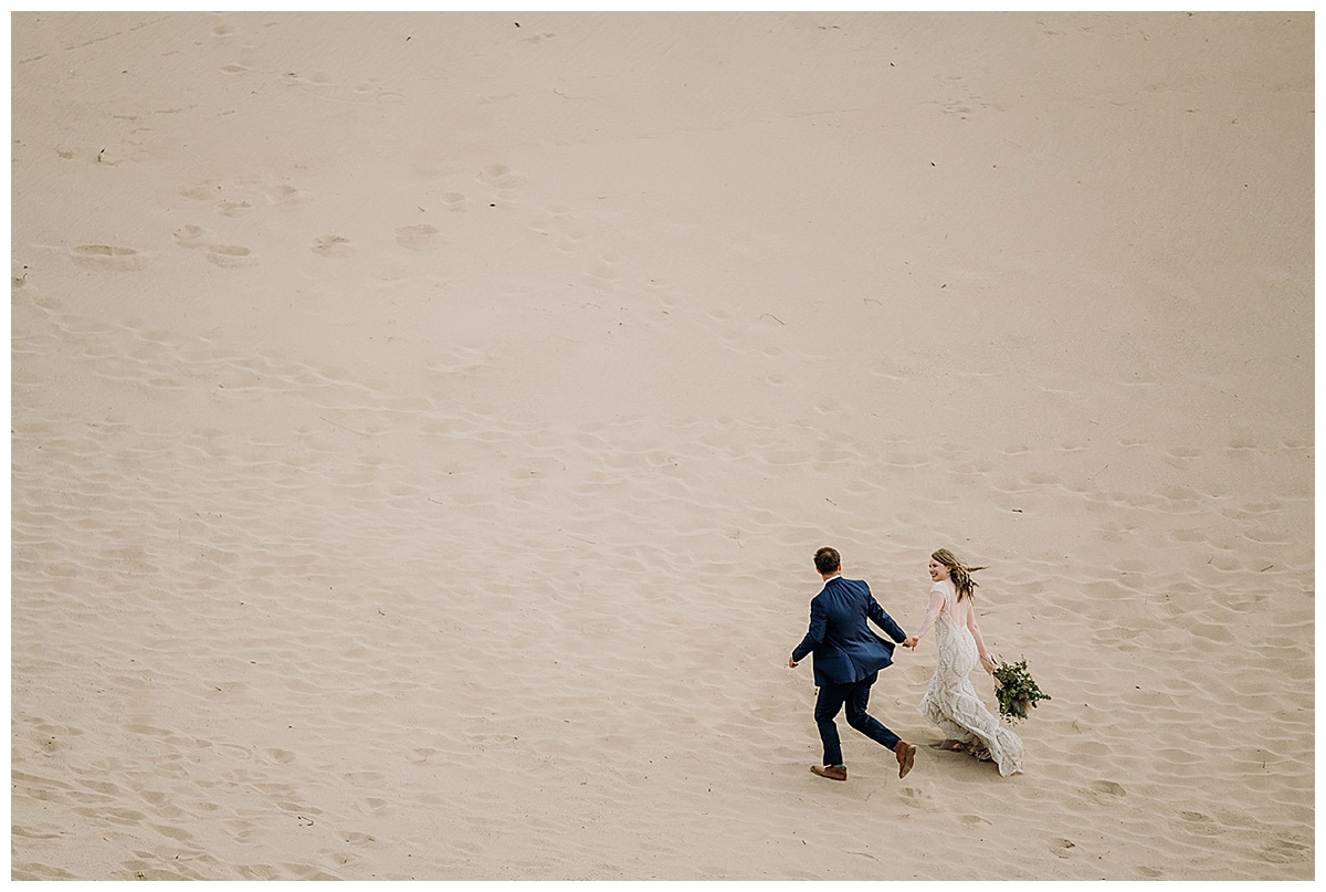 Northern Michigan Elopement at the Dunes