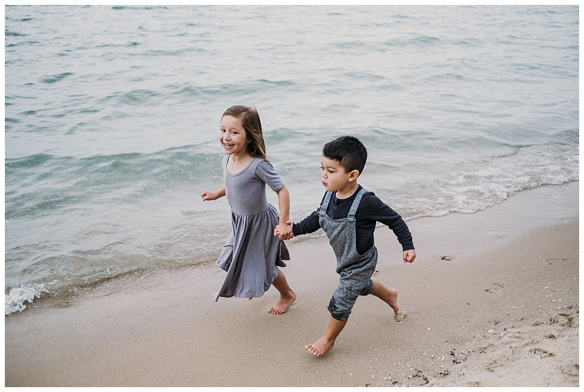 Northern Michigan Beach Family Session