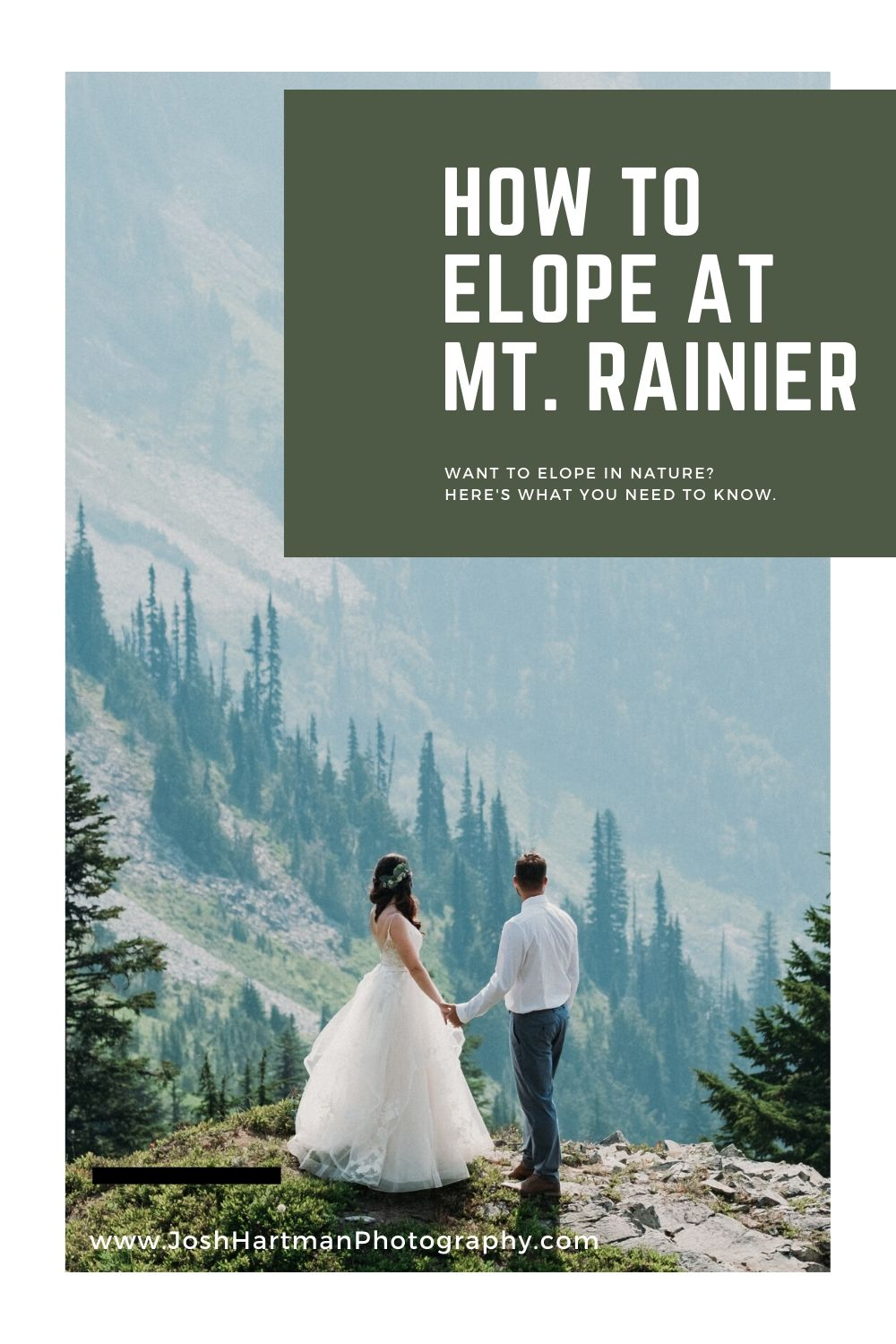 How to Elope at Mt. Rainier