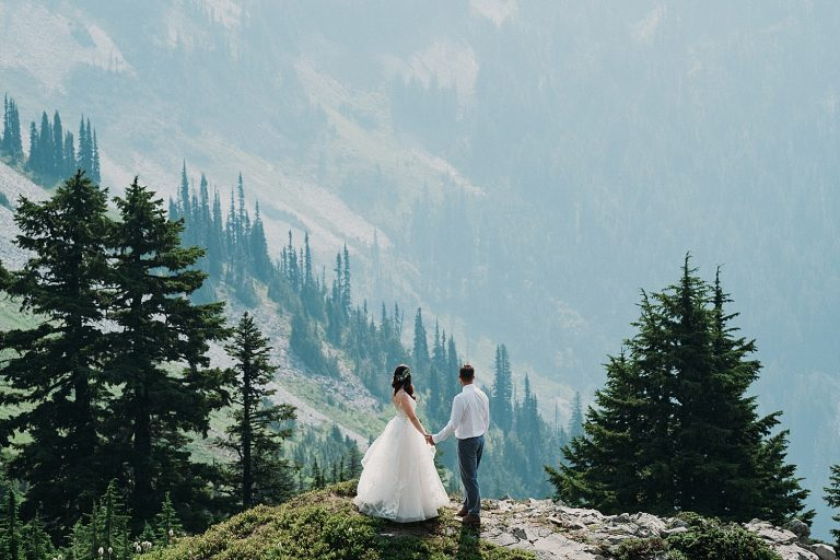 Mount Rainier National Park Elopement
