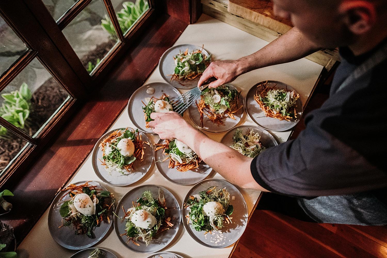 Birds Nest Salad Foraging Dinner