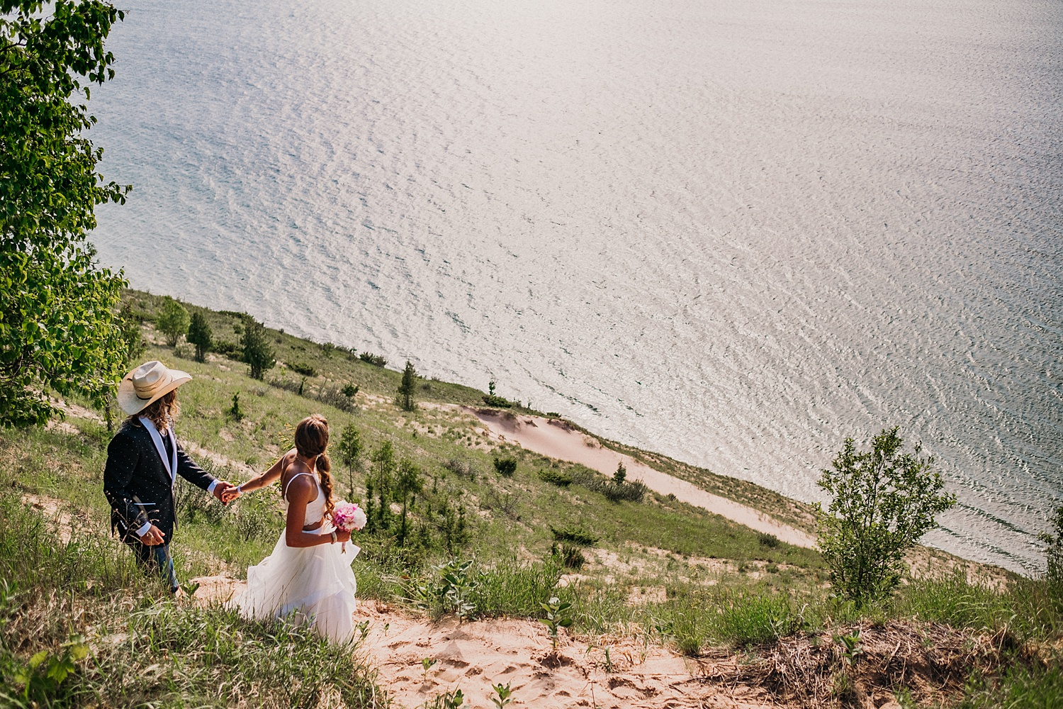 Sleeping Bear Dunes Empire Elopement