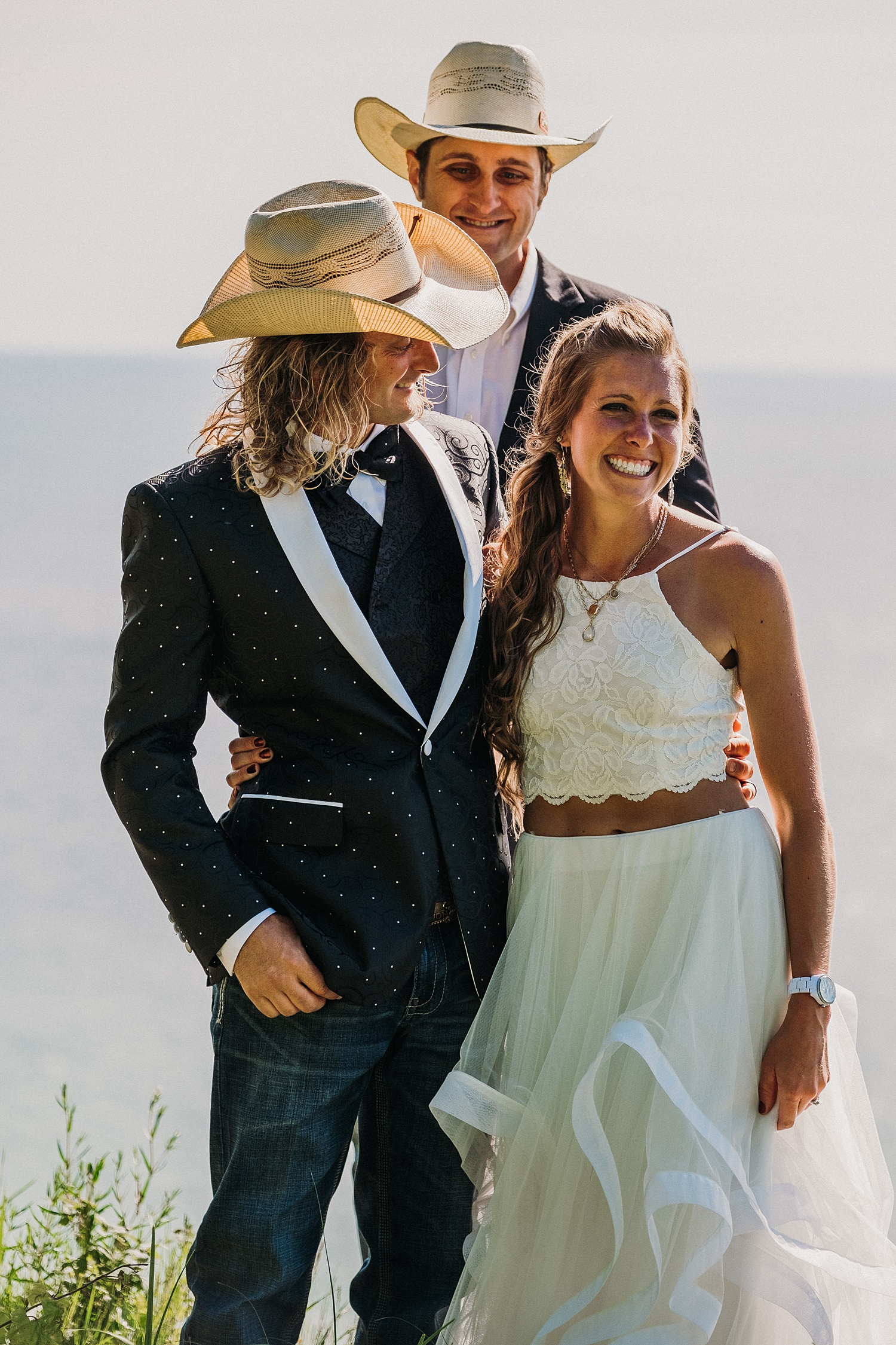 Elopement Lake Michigan Ceremony