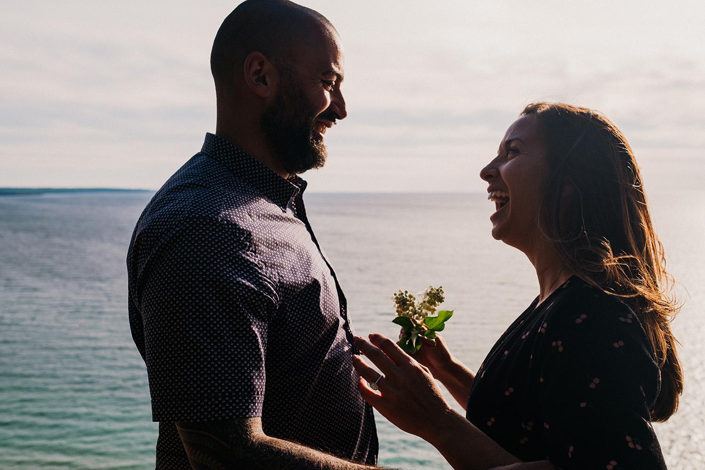 Proposal Photographer Empire Michigan