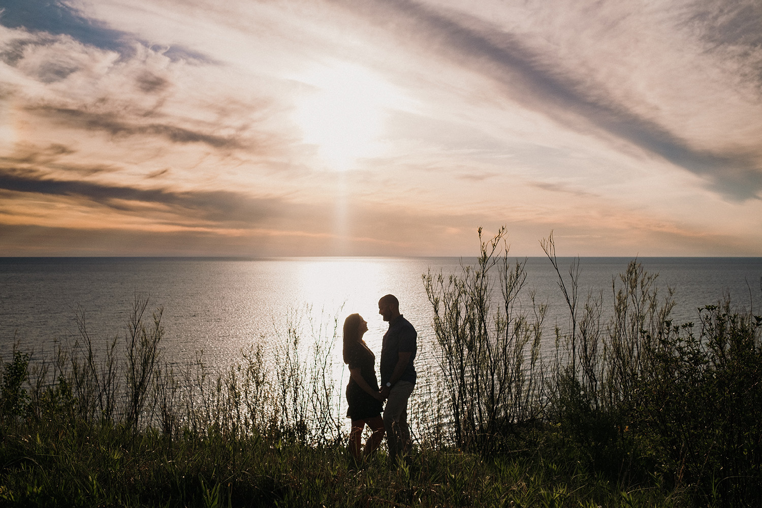 Sunset Proposal in Empire