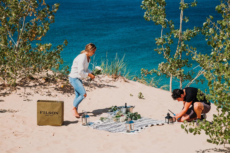 Friends Proposal Picnic