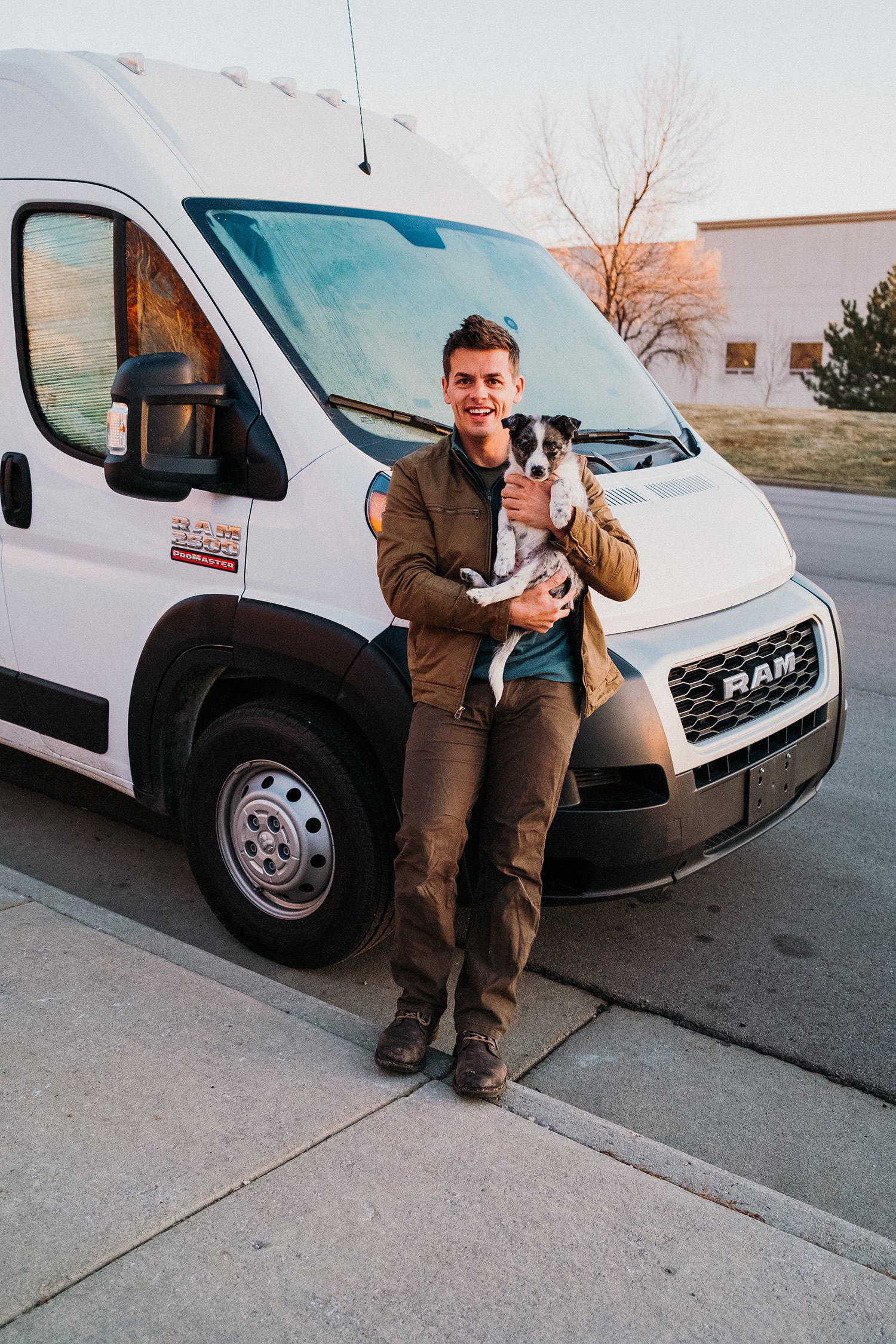 Colorado Springs Photographer Van Life Texas Heeler Puppy