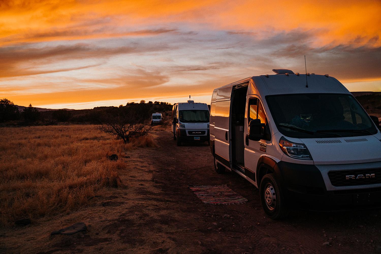 Loy Butte Road Sedona Van Life