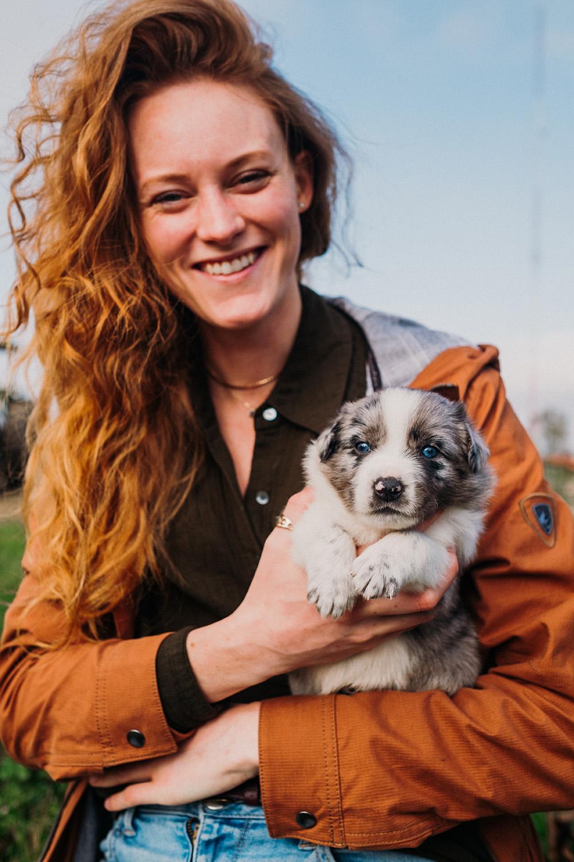 Nicole Geri Texas Heeler Puppy