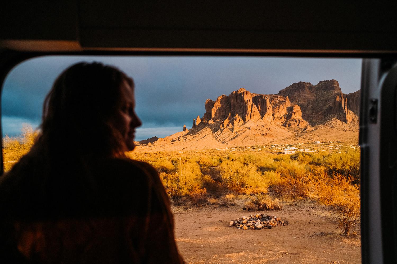 Arizona Van Life Nicole Geri