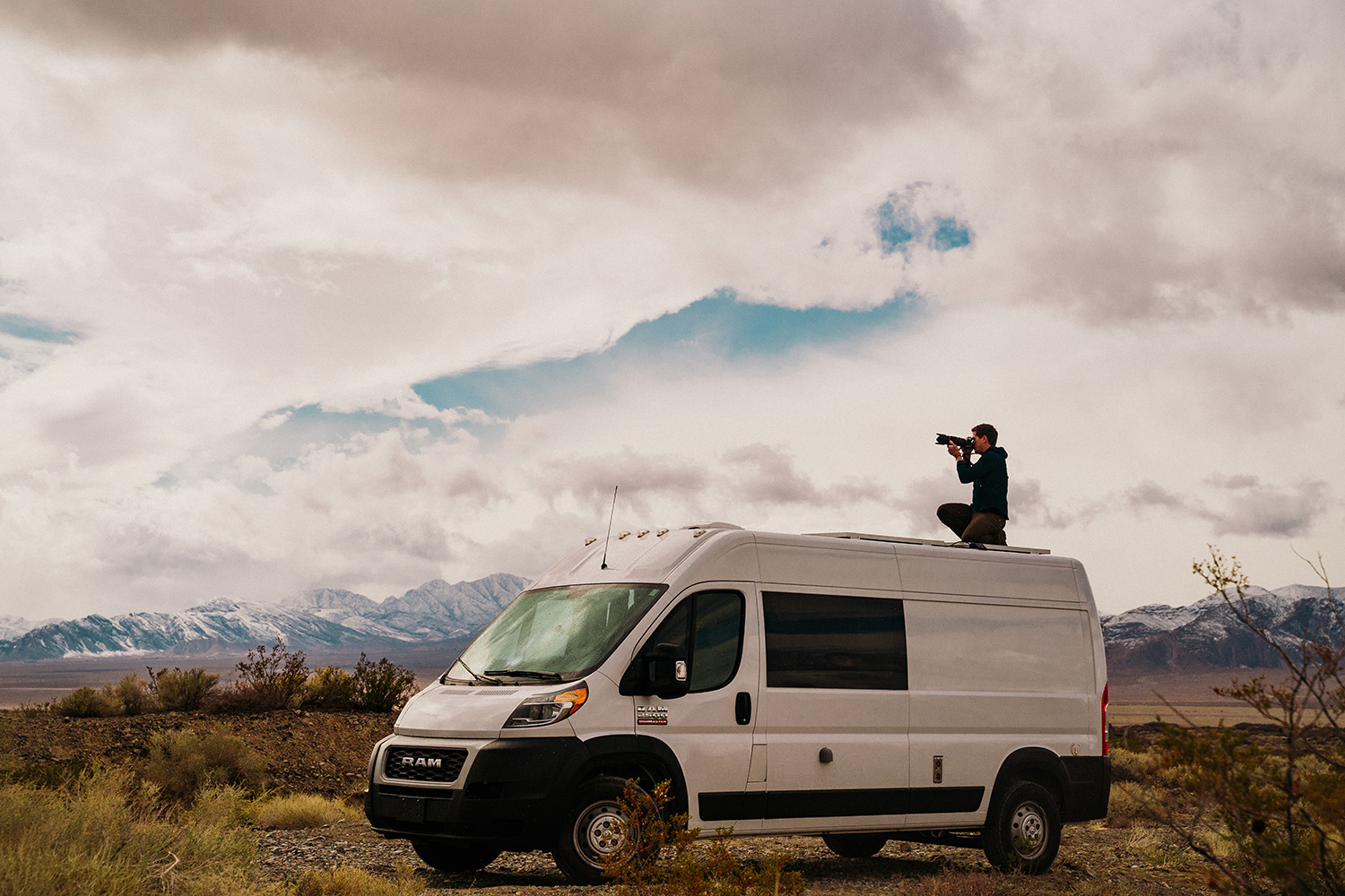 North Las Vegas Vanlife Photographer