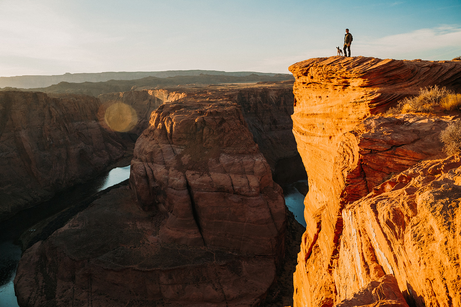 Horseshoe Bend Arizona Josh Hartman Kovu Van Dog