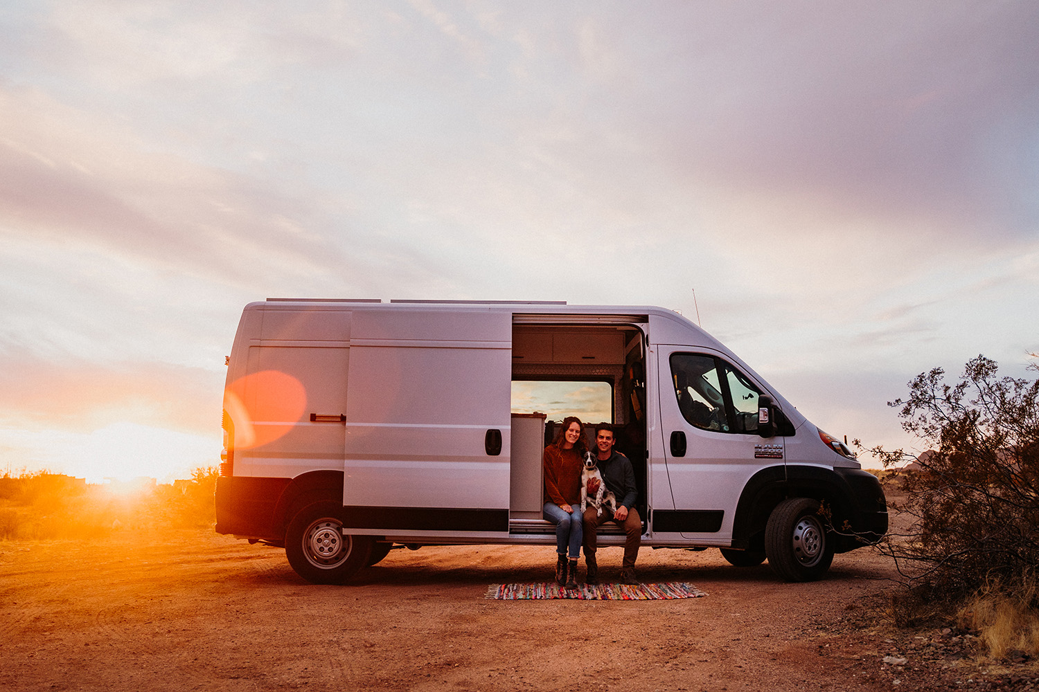 Van Life Couple Arizona