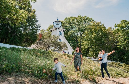 Mission Point Lighthouse Family Hike