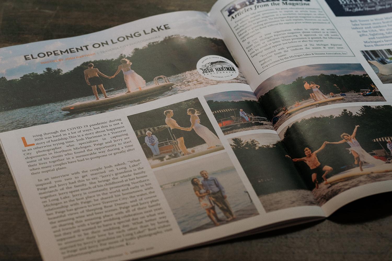 The Riparian Magazine Long Lake Elopement